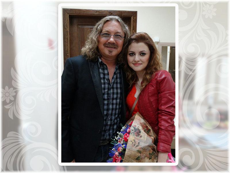 Игорь Николаев и Виктория