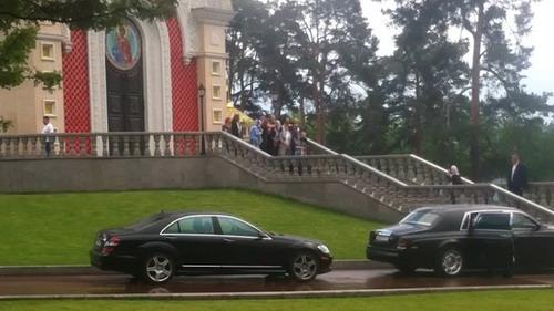Игорь Николаев крестил Веронику