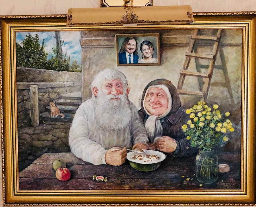 Открытки дед и баба